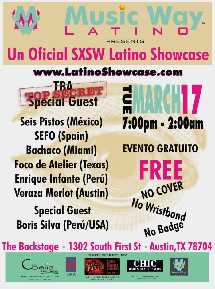 Music Way Latino SXSW 2015