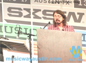 music way sxsw dave grohl