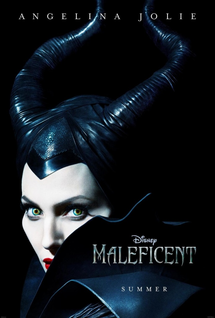 Maleficent Movie Poster Angelina Jolie 2014 release music way austin