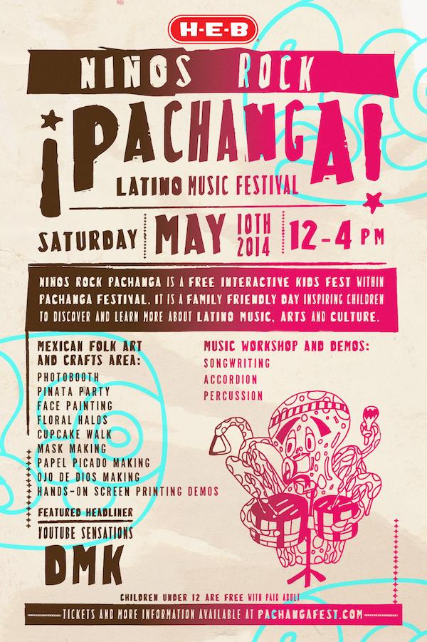 Ninos Rock Pachanga Latino Music Festival