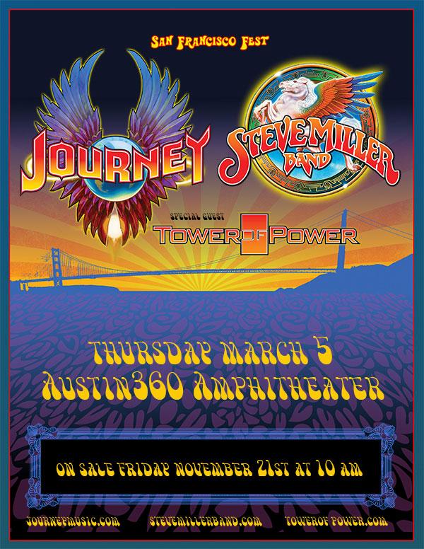Journey Steve Miller Band