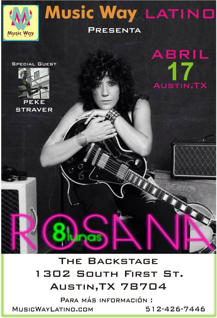 Rosana en Austin Music Way Latino