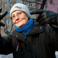 80 year Old Rapper Granny ► Rap-Mummo Eila