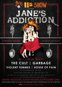 Janes Addiciton 25th Anniversary concert