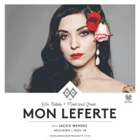 Mon Laferte @ Mohawk - Austin,TX Nov 14 ► Ticket + Meet & Greet Giveaway