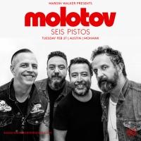 MOLOTOV + Seis Pistos @ Mohawk Austin,TX 2018 ► Giveaway